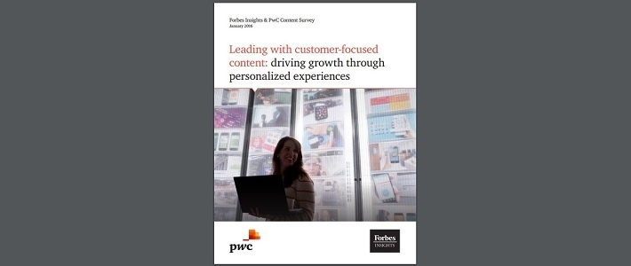 PwC customer focused content