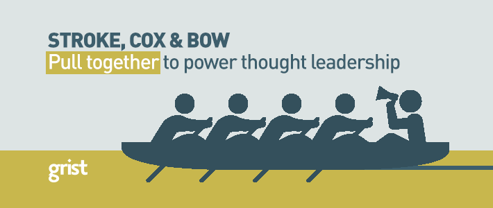 How to get your internal audience involved in the firm's thought leadership